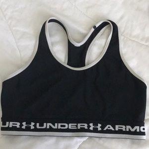 Under armor sports bra!